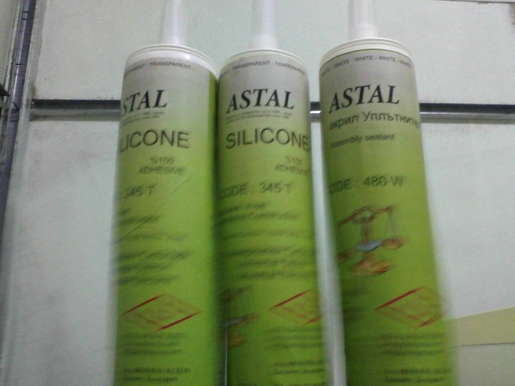 ASTAL, SİLİCONE ADHESİVE
